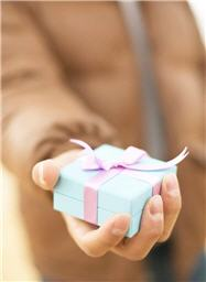 present your gift